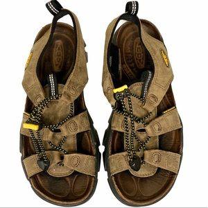KEEN Newport Waterproof Leather Hiking Sandals 8.5